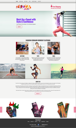 Tezza Sport Website